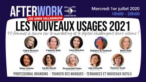 Les nouveaux usages en 2021 vus par le regard de 10 femmes à suivre en marketing et digital