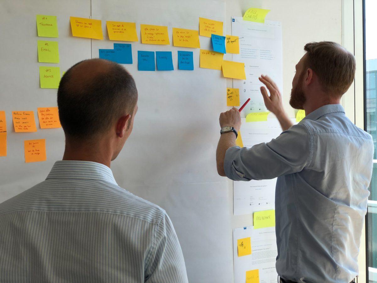 Product Owner et Equipe agile au travail