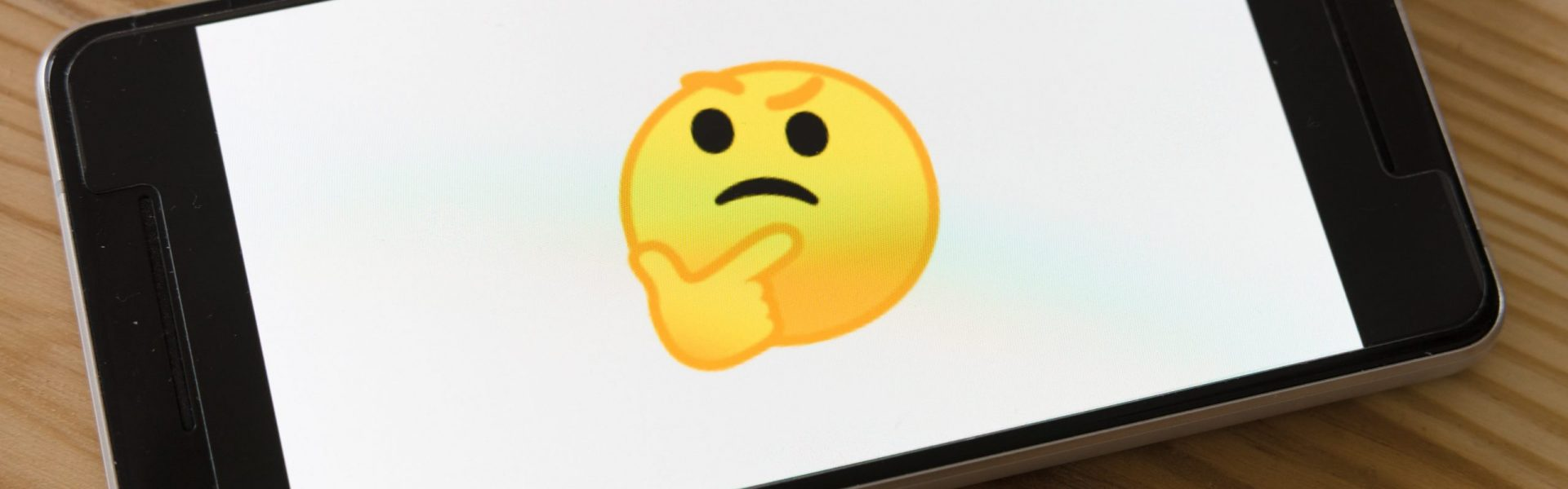 Emoji dubitative