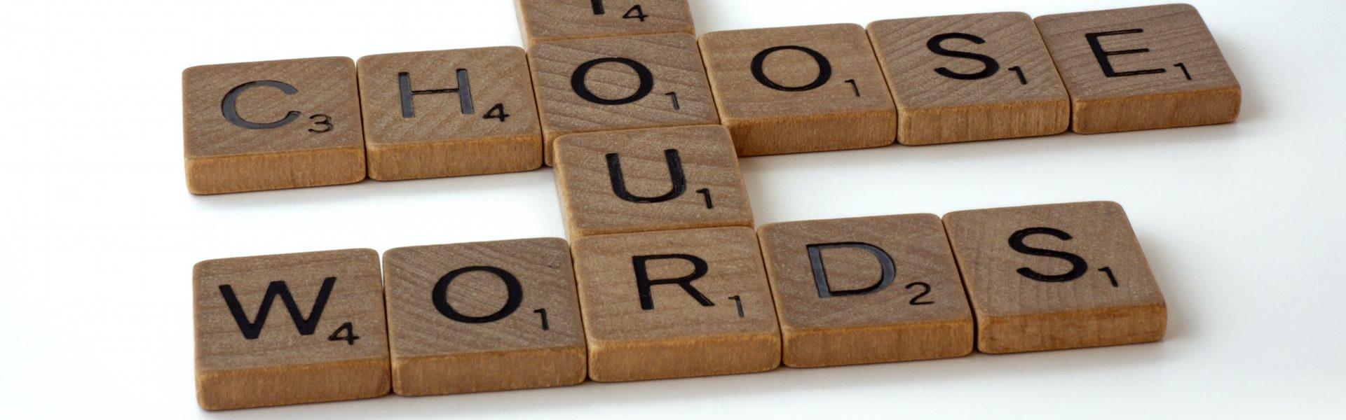 Choisissez vos mots